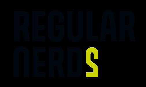 Regular Nerds Logo zweizeilig